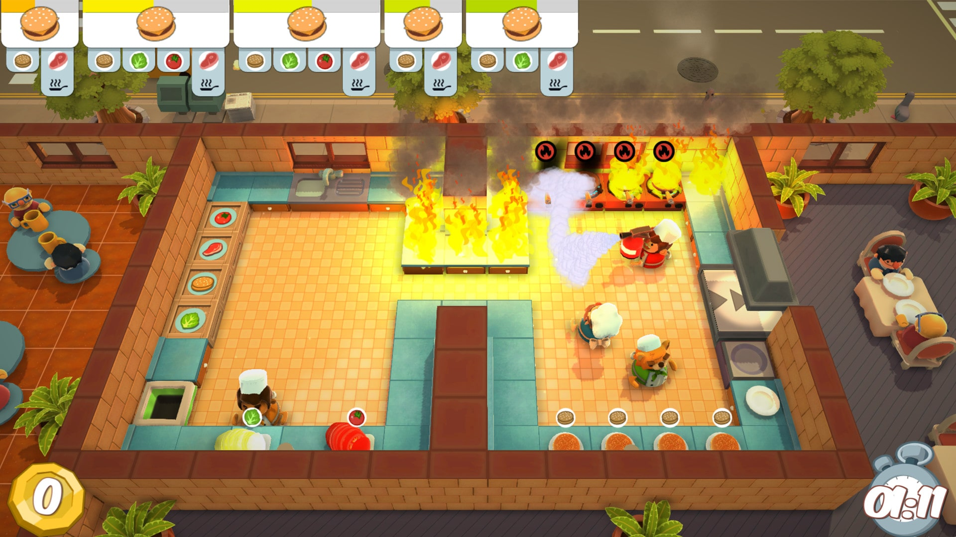 Overcooked could crush some friendships.