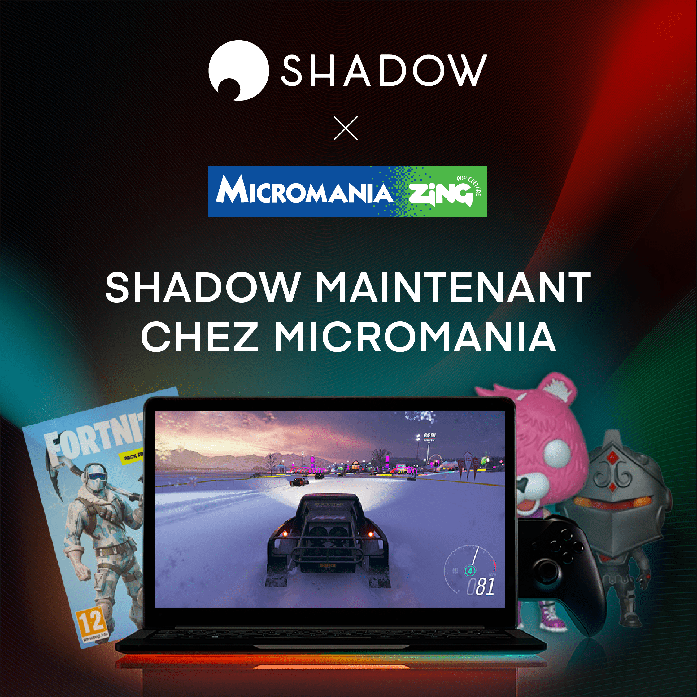 Bundle Fortnite Shadow Micromania